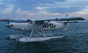 Το υδροπλάνο της αεροπορικής εταιρείας ArGo Airways