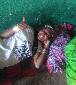 Βαρβάρα Gkempiaou, διαδρομή των 225 χιλιομέτρων μέσα σε 7 μέρες στην Αιθιοπία