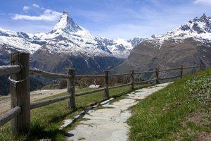Τοπίο των ελβετικών Άλπεων
