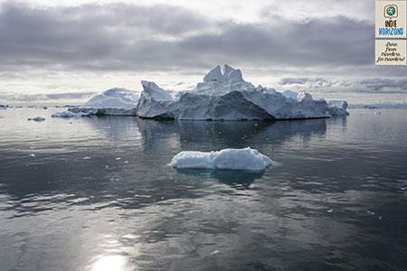 Greenland, icebergs in Ilulissat