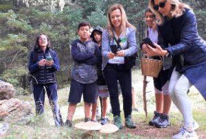 Mushroom hunting & cooking - Mamakita.gr