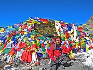 στην περιοχή Annapurna του Νεπάλ