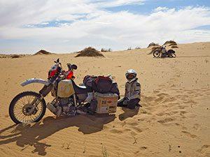 Διασχίζοντας τη Σαχάρα στη Μαυριτανία