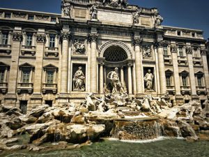 Roma, Trevi Fountain, Ρώμη