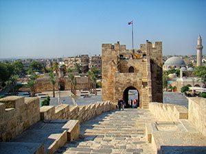 Aleppo City in Syria, MotoRiders Club
