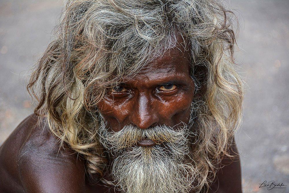 Beggar in Kolkata. India