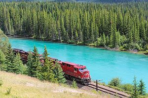 Scenic Train Trips Across Canada, Καναδάς
