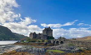 Το κάστρο Eilean Donan της Σκωτίας