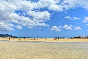 Elafonisi Beach in West Crete, Greece