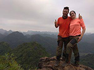 Halong Bay travellers
