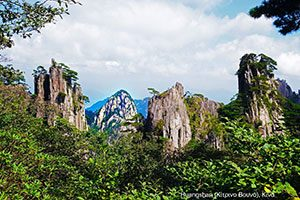 Huangshan (Κίτρινο Βουνό, Κίνα)