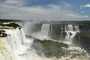 Καταρράκτες Ιγκουασού (Iguazu Falls), Αργεντινή Βραζιλία