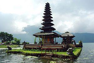 Indonesia Bali Ulun Danu Beratan Temple, Μπαλί Ινδονησία