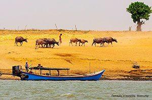 Ποταμός Irrawaddy, Μυανμάρ