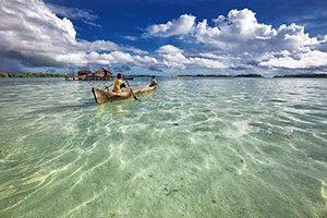Lagoon Dugout Canoe, Philippines