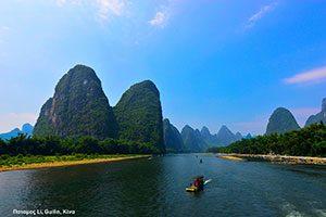 Ποταμός Li, Guilin, Κίνα