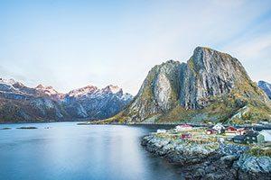 Lofoten Archipelago in Norway Νορβηγία