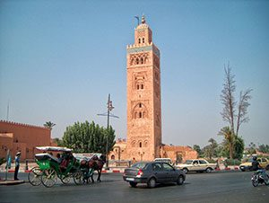 Marrakesh City in Morocco, MotoRiders Club