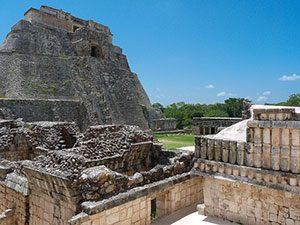 El Castillo Pyramid in Mexico Μεξικό