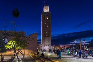 Marrakesh City in Morocco, pixabay
