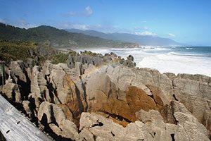 Pancake Rocks in Punakaiki, New Zealand, Νέα Ζηλανδία
