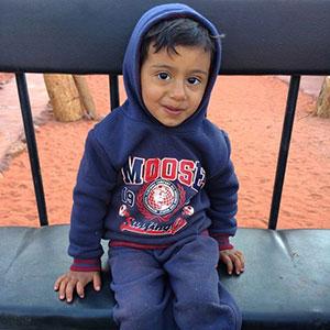 Σύριος πιτσιρικάς
