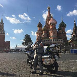 Θανάσης Βαβαρούτας, Jefe Moto Adventure