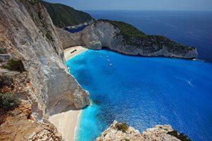 Greece Zakynthos Navagio Beach