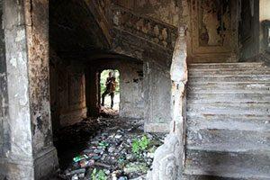 Abkhazia: War ruins