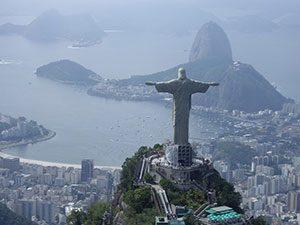 Rio de Janeiro Christ the Redeemer, Brazil