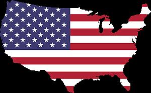 America ΗΠΑ, USA Map, pixabay