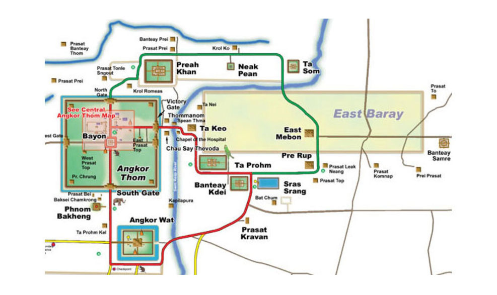 Angkor Wat, η μεγαλύτερη θρησκευτική κατασκευή στον κόσμο, Καμπότζη