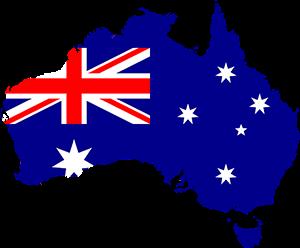 Αυστραλία, Australia Map, pixabay