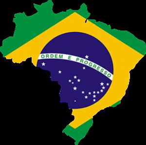 Βραζιλία, Brazil Map, pixabay