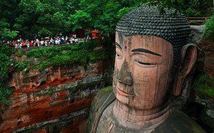 Ο Βούδας του Λεσάν στην Σιχουάν (Sichuan)