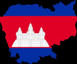 Καμπότζη Cambodia Map
