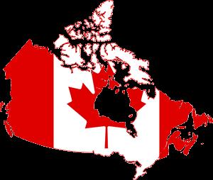 Καναδάς, Canada Map, pixabay