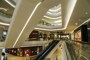 Δημοφιλή εμπορικά κέντρα στο κέντρο της Μπανγκόκ, Bangkok,