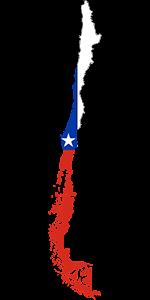 Χιλή, Chile Map, pixabay