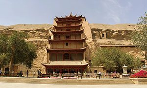 The Mogao caves (Xinjiang - China)