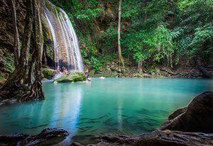 Erawan National Park and Waterfall
