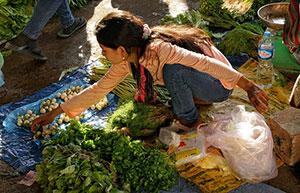 Laos Λάος, Market Μάρκετ