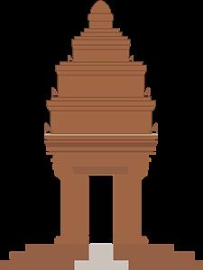 Το Μνημείο της Ανεξαρτησίας (Vimean Ekareach)