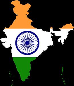 India Map, Ινδία, pixabay
