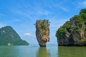 James Bond Island, Phang Nga Thailand, Khao Phing Kan