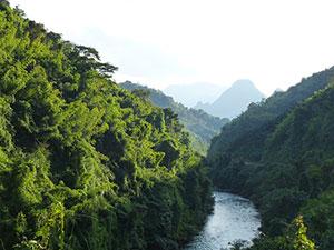 Laos Λάος, landscape τοπίο