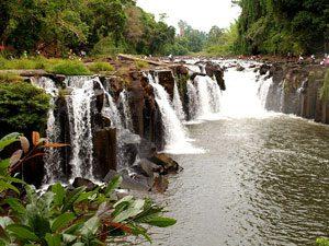 Pha Suam Waterfall, Laos Λάος, landscape τοπίο
