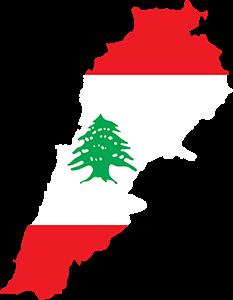 Lebanon Map, Λίβανος, pixabay