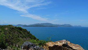 Το πέλαγος στα νότια του Να Τρανγκ