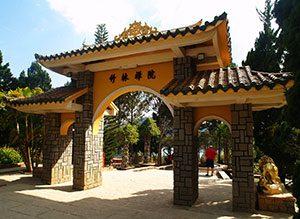 Μοναστήρι και Λίμνη Tuyen Truc Lam